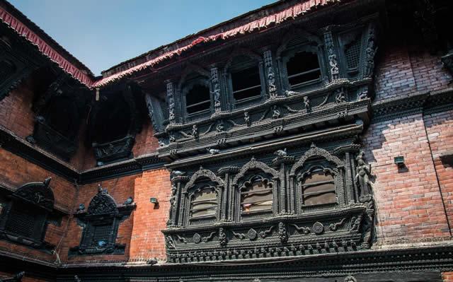 尼泊尔活女神庙